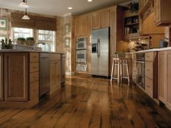 Hardwood Flooring Over Tile In The House